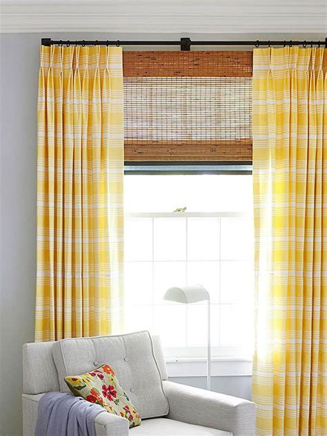 simple window treatments easy window treatment projects bamboo blinds custom