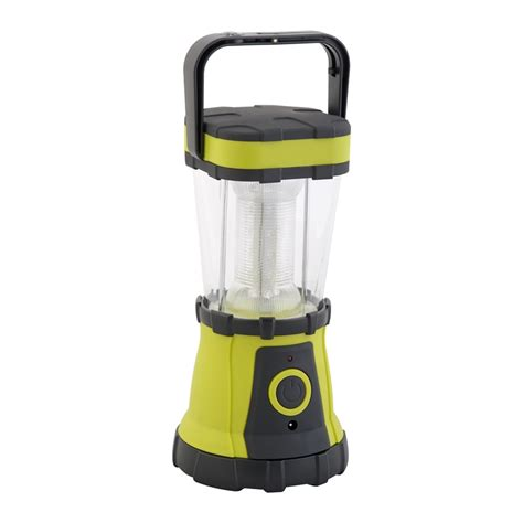 L And Lantern by Arlec 24 Led Rechargable Cing Lantern With Compass