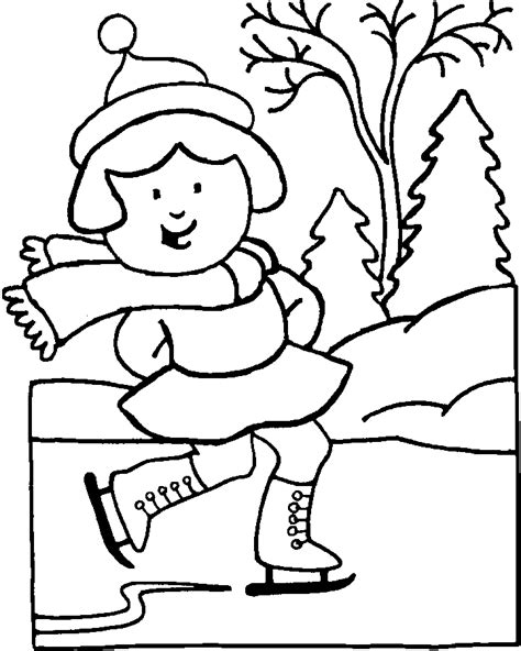 preschool winter coloring pages az coloring pages