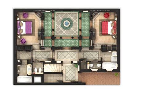 moroccan riad floor plan riad 3d floorplan 3d floorplans pinterest