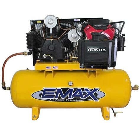 emax 24 hp 120 gallon two stage truck mount air compressor w honda engine ebay