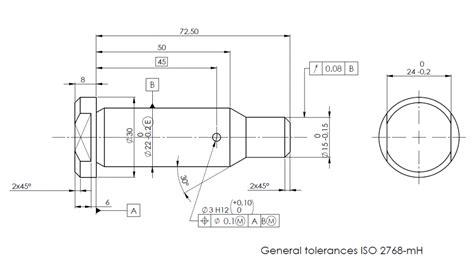 tavole geometriche stop alle tolleranze generali il progettista industriale