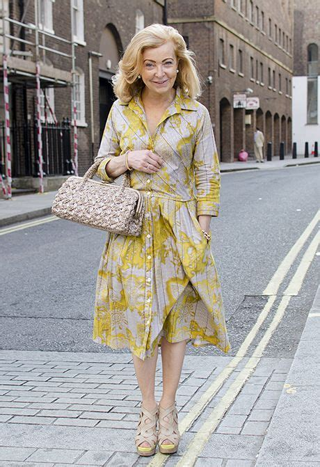 Hip Summer Styles For Middle Age Women   stylish summer dresses on the streets of london middle
