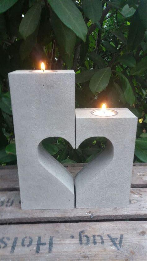 kerzenhalter ostern beton giessform herz kerzenhalter 2 teilige form die