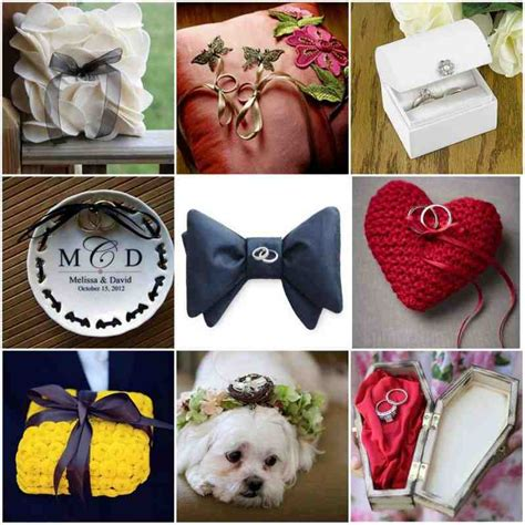 Ring Pillow Ideas by Ring Bearer Pillow Ideas Wedding And Bridal Inspiration