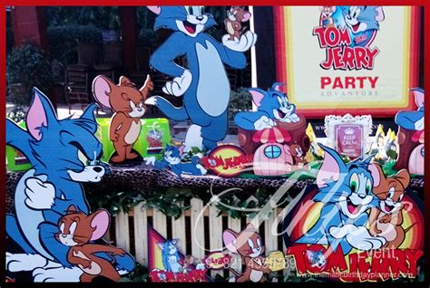 Backyard Birthday Decoration Ideas Tom And Jerry Party
