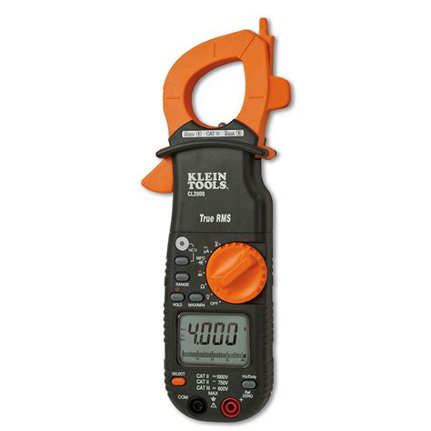 Multimeter Cl 400a ac dc true rms cl meter cl2000 klein tools for professionals since 1857