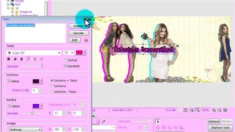 como hacer una portada para facebook en photoscape youtube tutorial como hacer una linda portada en photoscape youtube