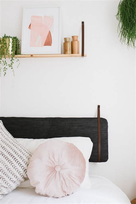 headboard cushion diy cushion headboard an easy ikea hack a pair a spare