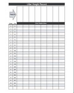 puppy weight chart template 17 best images about breeder printables on