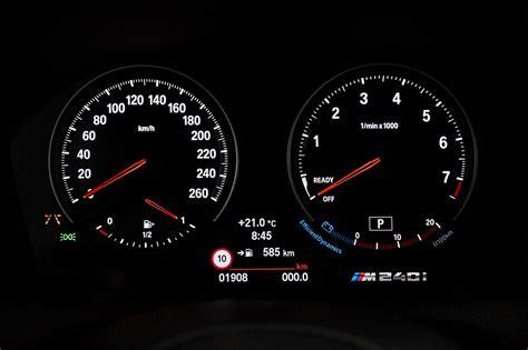 Bmw 1er F20 Digitale Geschwindigkeitsanzeige by 2018 Bmw M240i Review Gtspirit