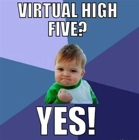 High Five Meme - m 225 s de 25 ideas incre 237 bles sobre virtual high five en