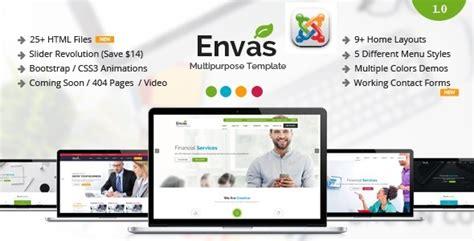 download envas multipurpose business joomla template