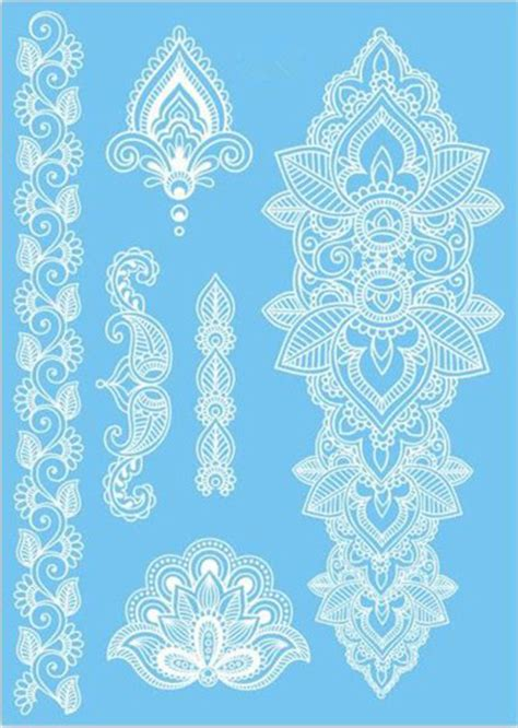 henna tattoo kaufen blue henna patterns makedes