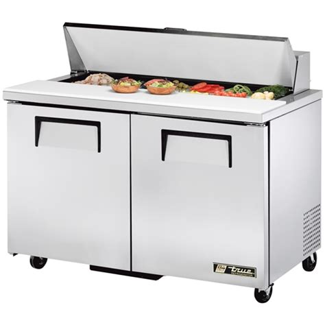 true refrigerated sandwich salad table 48 quot wide 12 pan