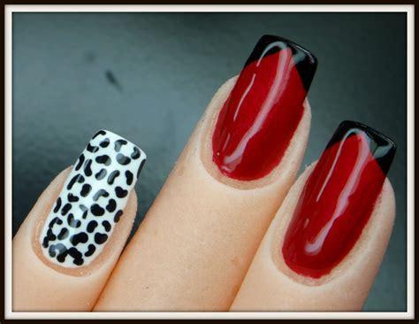 imagenes de uñas pintadas de rojo y negro u 241 as pintadas de rojo con negro youtube