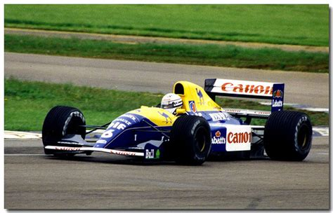 Renault Williams F1 Riccardo Patrese F1 Williams Renault Fw14 1991 Gp