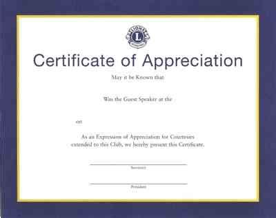 Certificate Of Appreciation Sle Guest Speaker Choice Image Certificate Design And Template Certificate Of Appreciation For Speakers Template
