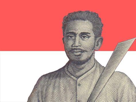 biografi pahlawan nasional kapitan pattimura patung pattimura akan ada di saparua