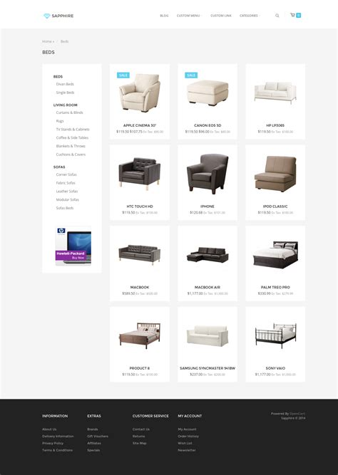 sapphire bootstrap 3 ecommerce template by nicole 89