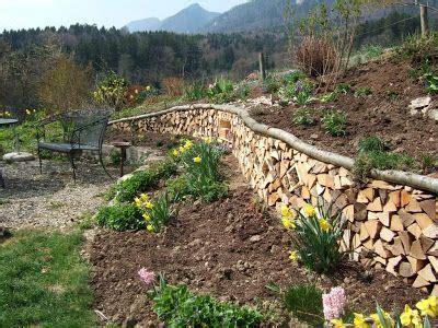 Garten Hangbefestigung Pflanzen by Hangbefestigung Mit Holz Insektenressort Garten