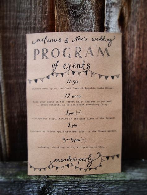 Home Interiors Home Parties by Wedding Stationery Inspiration Day Of Itineraries