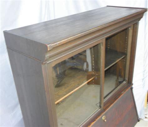 Bargain John S Antiques 187 Blog Archive Oak Bookcase With Antique Drop Front Desk With Bookcase