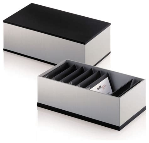 Business Desk Accessories Business Card Box Modern Desk Accessories By Steelcase