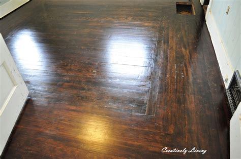 Wood Floors The Ebony Jacobean Mix Creatively Living Blog