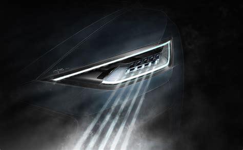 audi headlights poster audi reveals laser headlights for the new r8 komarjohari