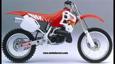honda cr 500 evolution of honda cr 500 from 1981 to 2001