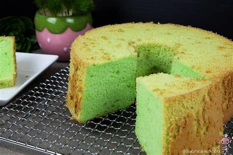 Cake Pandan pandan chiffon cake food
