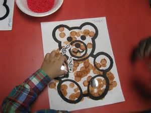 five senses teddy bear craft