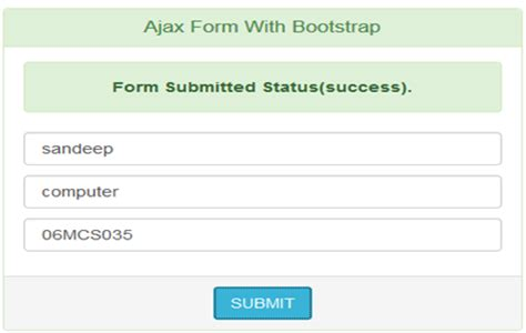 tutorial html form submit ajaxform asynchronous form submit tutorial savvy