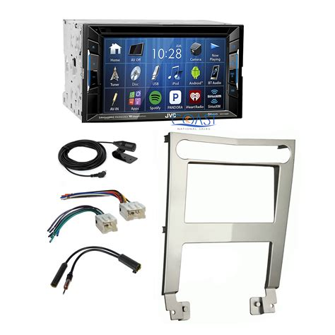 2004 nissan maxima bluetooth jvc bluetooth car stereo 2din silver dash kit harness for