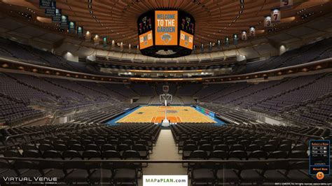 Philips Arena Floor Plan madison square garden seating chart detailed seat