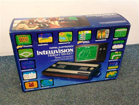 intellivision console consoles mattel intellivision intellivision console