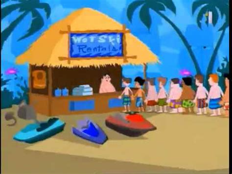 phineas and ferb backyard beach song phineas and ferb backyard beach slovak version youtube