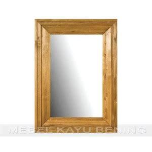 Kaca Cermin Lemari cermin pigura kaca kayu jati minimalis standard mebel kayu bening furniture jati minimalis