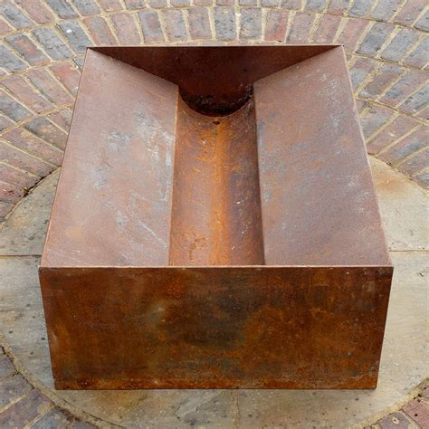 chunk welded steel pit by magma firepits