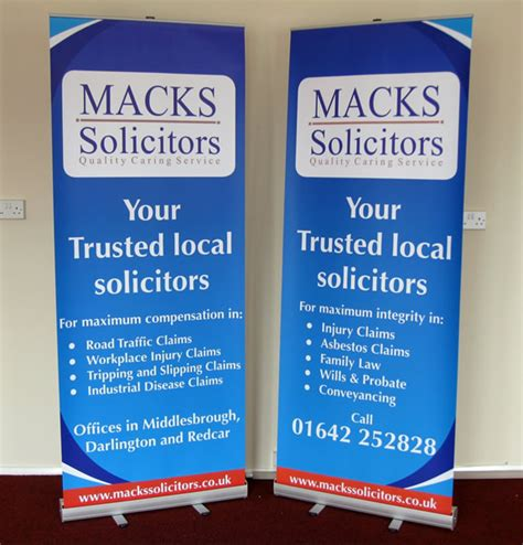 Roll up cassette display stands amp banner stand gt signs and print limited