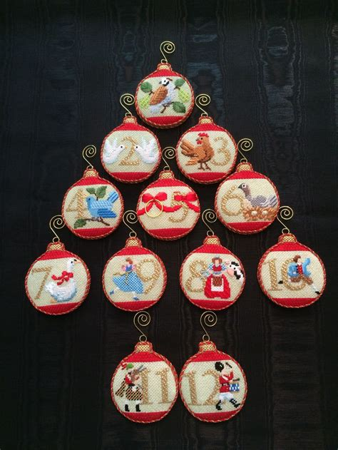 12 days of christmas decorations 17 best images about cross stitch on cross stitches reindeer