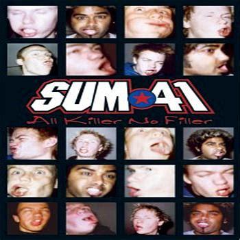 Kaset Sum 41 All The Killer No Filler Sum41