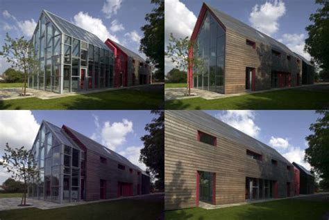 sliding house the sliding house by drmm inhabitat green design innovation architecture green