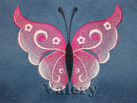 free butterfly hand embroidery butterfly 1 machine embroidery design machine