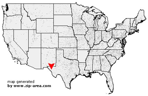 where is horn texas on the map us zip code horn texas