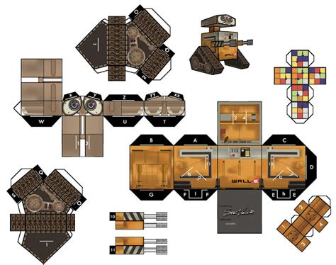 Papercraft Collection - works papercraft template collection