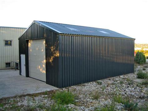 porte de hangar occasion hangars m 233 talliques en kit