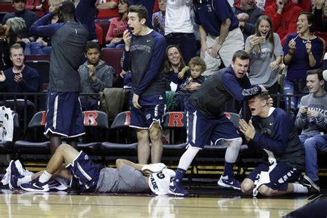 bench team shtick on the sidelines college basketball s most famous