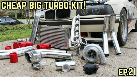 Bmw Turbo Kits by The Big Turbo Kit Is Complete Bmw E36 325i Drift Build
